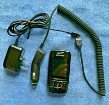 Samsung SGH T301G - Black (TracFone) Cellular Slip Phone