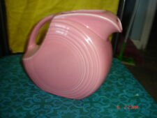 Fiesta Rose /  Pink Fiesta ---  Large Disc Water Pitcher Retired Color