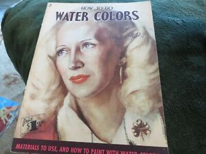 How to Do Water Colors by Walter Foster