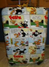 Luggage NEW Visionair Felix the Cat Comic Book'D Hardside Spinner 26-Inch