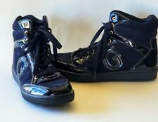 Womens GUESS HIGH-TOP SNEAKERS BLACK  Size 7 M