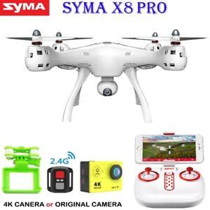 Professional Drone SYMA X8PRO 4K HD Camera GPS WiFi RC Quadcopter Best Kids Gift