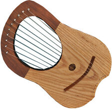 LYRE HARP 10 STRING MIX COLOUR/LYRA HARP 10 STRING Shesham WOOD/LYRE HARP Harfe