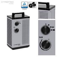 TROTEC Keramik-Heizlüfter TDS 20 P Elektroheizer Heizgerät Keramik Heizer 3 kW