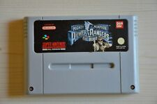 SNES-Mighty Morphin Power Rangers: the Movie for Super Nintendo