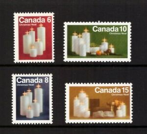 Canada 1972 Christmas set MNH mint stamps