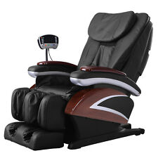 New Electric Full Body Shiatsu Massage Chair Recliner Heat Stretched Foot 07C