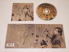 BRYAN FERRY/AS TIME GOES BY(VIRGIN 8482712+DGVIR89) CD ALBUM