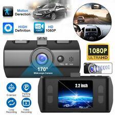 2.2'' Dash Cam FHD 1080P Front and Rear Car Dashboard Camera 170° DVR Recorder