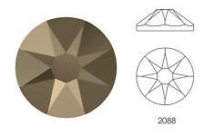 10x Swarovski® Crystals Flatback crystal metallic light gold 2088 NoHF SS34 7mm