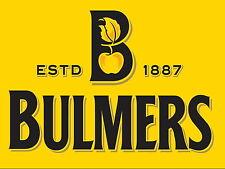 Bulmers sidro Retrò alluminio metallo segno VINTAGE, BAR, PUB, L'UOMO GROTTA...