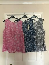 BNWT Marks and Spencer's x3 Ladies Summer Top size 20
