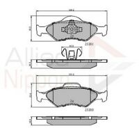 Allied Nippon Front Brake Pad Set ADB0899  - BRAND NEW - 5 YEAR WARRANTY