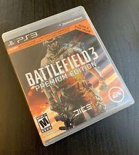 Battlefield 3: Premium Edition (SONY PLAYSTATION 3, de 2012, PS3) -! envío Gratis!