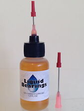 Liquid Bearings, THE BEST 100%-synthetic oil for German or any antique clocks