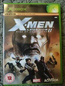 X-MEN LEGENDS II RISE OF APOCALYPSE - ORIGINAL XBOX