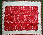 """Antique Traditional Hungarian/Transylvanian Embroidery pillow case  22.44x18.5"""""""