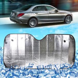 Universal Car Foldable Sun Shade Visor Shield Windshield Reflective Heat Cover