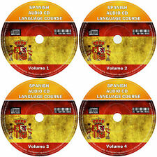 More details for spanish language course for beginners easy learn by listening 4 x audio cd set