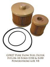 GF827 Pure Flow Fuel Filter Fits 04-10 Ford E-350 & E-450 Powerstroke 6.0L V8