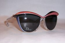 25edb849aa2a NEW CHRISTIAN DIOR DEMOISELLE 1 S EXM-P9 BLACK GRAY SUNGLASSES AUTHENTIC