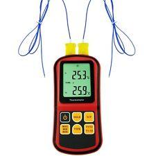 -150~1767°C Thermometer Thermocouple K / J / T / E / R / S / N Temperature Meter