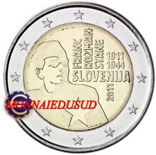 2 Euro Commémorative Slovénie 2011 - Franc Rozman-Stane