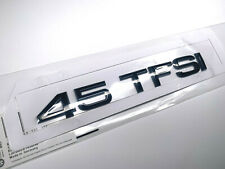 OEM Style Gloss Black 45 TFSI Badge Sticker for Audi A4 A5 A6 A7 Q3 Q5 Q7 TT