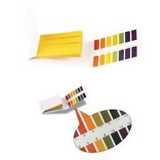 80Stk 114 pH Wert Teststreifen Indikatorpapier Alkalinität Säure WassertestD