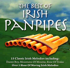THE BEST OF IRISH PANPIPES  NEW AND SEALED CD Relax to the soothing sounds