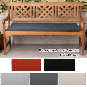 2 Seater Outdoor Waterproof Garden Bench Patio Pad Chair Cushion Swing Seat Pads