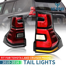 For 10-16 TOYOTA LANDCRUISER PRADO/ Lexus GX 460 LED Tail Lights with Sequential