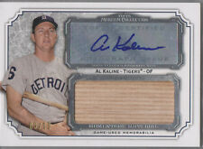 2012 Topps Museum Collection Al Kaline Auto Jumbo Logo Jersey Patch 9/10