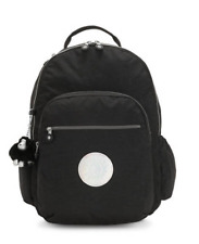 Kipling Seoul LARGE black hologram backpack, New with Tag