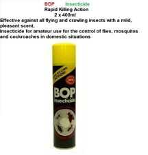 BOP 2 x  Insecticide Flying Crawling Insect Killer 400ml - Insect & Pest Control
