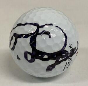 Bernhard Langer Signed Titleist Golf Ball Autographed AUTO JSA COA