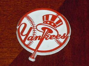 NEW YORK YANKEES Vintage NY MLB RUBBER Baseball FRIDGE MAGNET Standings Board
