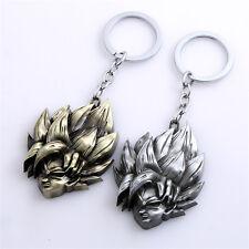 Dragon Ball Z Super Saiyan Anime Son Goku Key Chain Alloy Pendant Gift New Ring