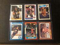 6x WAYNE GRETZKY Michael Jordan Bobby Orr Lemieux  Hull  Roy ROOKIE Card REPRINT