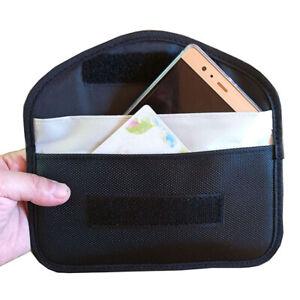 Faraday Bag RFID Signal Blocking Shielding Pouch Cell Phone Wallet Case Blocker