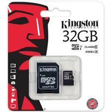 TARJETA MEMORIA KINGSTON ORIGINAL micro sd 32GB CLASE 10 RAPIDO PARA MOVIL/IPAD