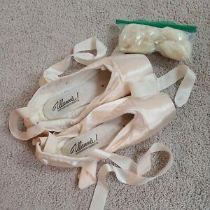 Grishko Ulanova I Pointe Shoes 7.5 XX M Pink Satin