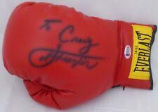 "Joe Frazier Autographed Red Everlast Boxing Glove ""To Craig,"" Beckett H10780"