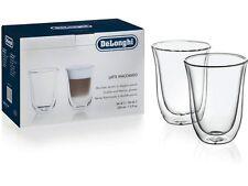 DeLonghi Doppelwandiges Thermoglas Latte Macchiato 2er Set