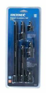 "Kincrome 6-PIECE IMPACT ACCESSORY SET K28215 1/2"" Drive, Chrome Molybdenum Steel"