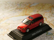 EBBRO HONDA STREAM IS MET.RED ART.162 NEW DIE-CAST 1:43
