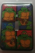 Teenage Mutant Ninja Turtles Metal Light Switch Wall Cover