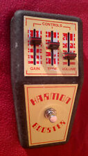 70's vintage Jen Harmon Booster guitar distortion fuzz pedal