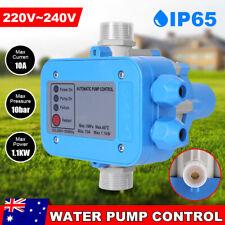 Water Pump Controller Automatic Pressure Control Switch Pump Electronic Tank AU