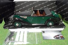 BMW 327 Cabriolet CLASSIC vert au 1/18 de SCHUCO 00012 18-8099-04 voiture à clef